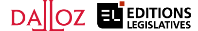 Logo Dalloz Editions Législatives