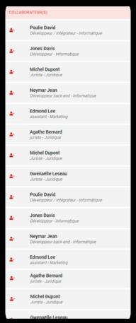 Dans Data Legal Drive, suivez la liste des employer à former au RGPD