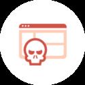 Icône gestion de la violation des données personnelles - Logiciel RGPD